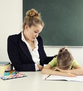 school fatigueの写真素材 [FYI00882769]