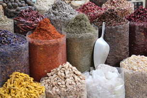 spice market of dubaiの写真素材 [FYI00883128]