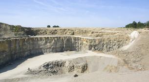 stone pit sceneryの写真素材 [FYI00883182]