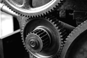 gears of a machineの写真素材 [FYI00883326]