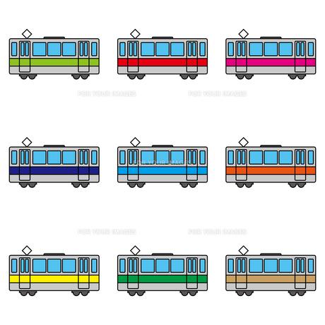 電車のイラスト素材 [FYI00884249]