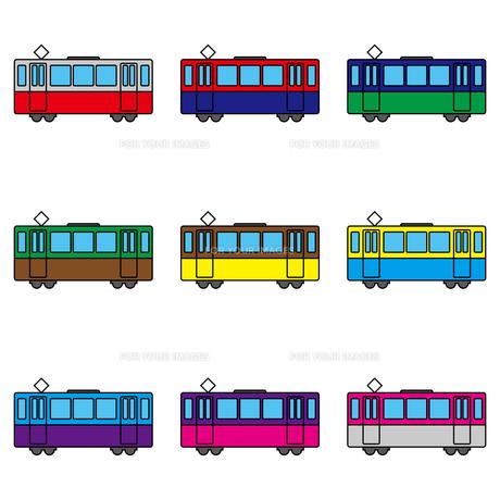 電車のイラスト素材 [FYI00884251]