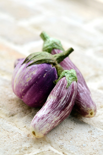 イタリア茄子の写真素材 [FYI00884385]