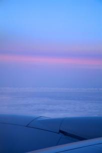 夕日の残光の写真素材 [FYI00884403]