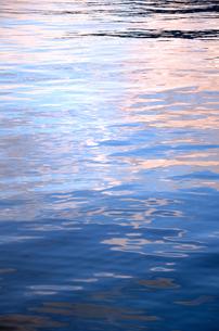 入江の夕暮れ時の写真素材 [FYI00884451]