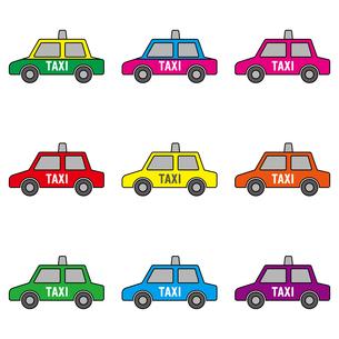 タクシー バンコクのイラスト素材 [FYI00884519]