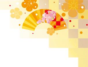 日本の新年の背景のイラスト素材 [FYI00885166]