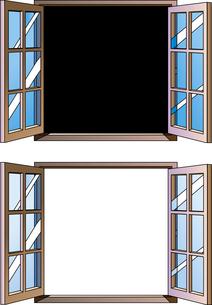 窓のイラスト素材 [FYI00885170]