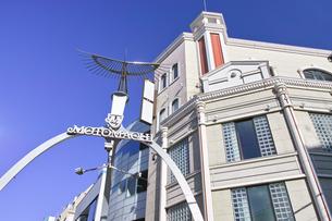 横浜元町ショッピングストリートの入り口の写真素材 [FYI00885444]