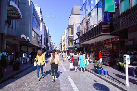 横浜元町ショッピングストリートの写真素材 [FYI00885447]