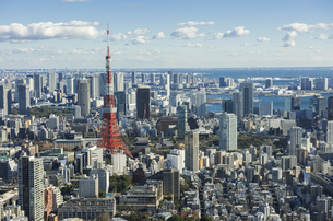東京港区の街並みの写真素材 [FYI00885571]