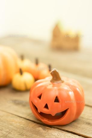 ハロウィンのかぼちゃの写真素材 [FYI00885777]