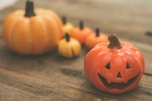 ハロウィンのかぼちゃの写真素材 [FYI00885784]