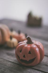 ハロウィンのかぼちゃの写真素材 [FYI00885789]