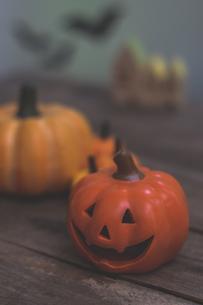 ハロウィンのかぼちゃの写真素材 [FYI00885796]