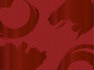 赤い和柄の背景素材のイラスト素材 [FYI00885925]
