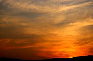 夕焼け空の写真素材 [FYI00886192]
