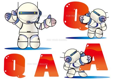 ロボットのナビゲーターのイラスト素材 [FYI00886211]