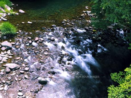 大分県日田市 夏の津江川の写真素材 [FYI00886232]
