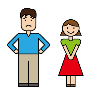 夫婦のイラスト素材 [FYI00886250]