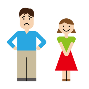 夫婦のイラスト素材 [FYI00886251]