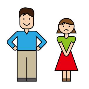 夫婦のイラスト素材 [FYI00886252]