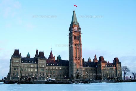 カナダ国会議事堂の写真素材 [FYI00886364]