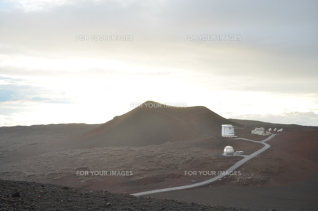 マウナケア山頂の写真素材 [FYI00886671]