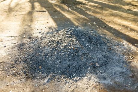 焼き灰の写真素材 [FYI00887126]