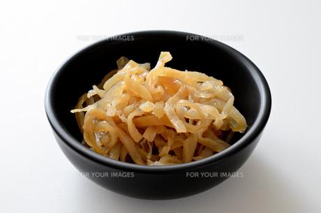 くらげ 食材の写真素材 [FYI00887256]