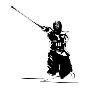 剣道のイラスト素材 [FYI00887320]