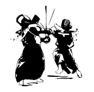 剣道のイラスト素材 [FYI00887322]