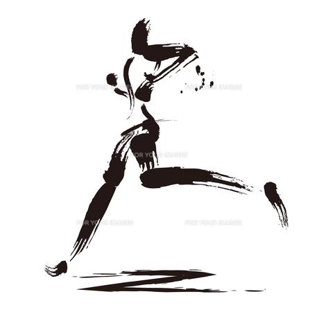マラソンランナーのイラスト素材 [FYI00887332]
