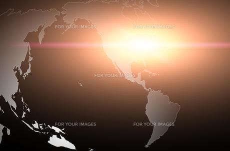 世界地図のイラスト素材 [FYI00887424]