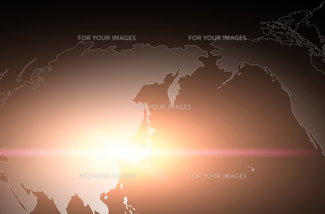 世界地図のイラスト素材 [FYI00887430]