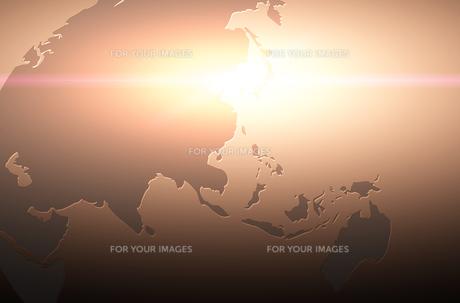 世界地図のイラスト素材 [FYI00887431]