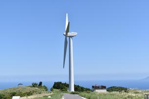 風力発電機の写真素材 [FYI00887509]