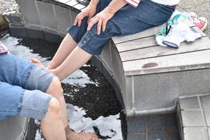 足湯の写真素材 [FYI00887515]