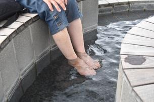 足湯の写真素材 [FYI00887516]