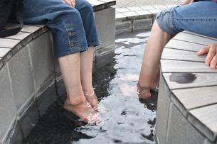 足湯の写真素材 [FYI00887517]