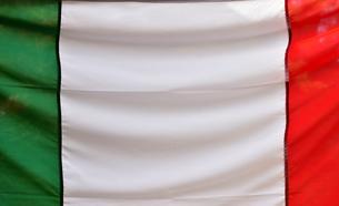 イタリアの三色区旗の写真素材 [FYI00887658]