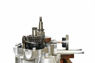 バイクエンジンの整備の写真素材 [FYI00887837]