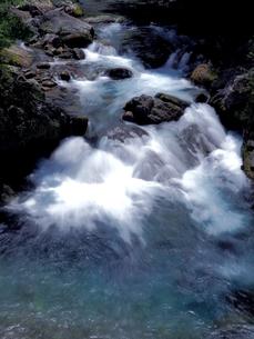 宮崎県 椎葉村の渓流の写真素材 [FYI00887841]