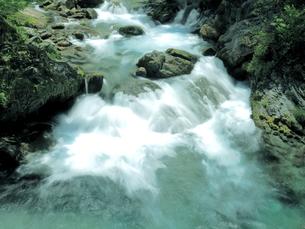 宮崎県 椎葉村の渓流の写真素材 [FYI00887842]