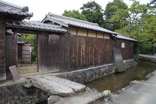 萩の町並み 旧湯川家住宅の写真素材 [FYI00887932]