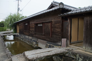 萩の町並み 旧湯川家住宅の写真素材 [FYI00887933]