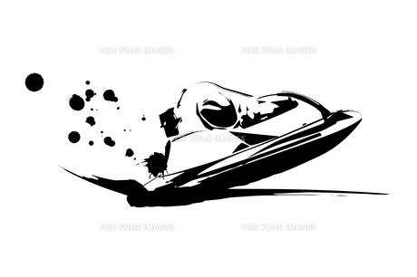 モーターボートレースのイラスト素材 [FYI00889324]
