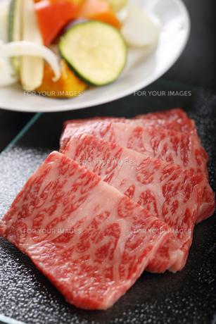 焼肉の写真素材 [FYI00889428]