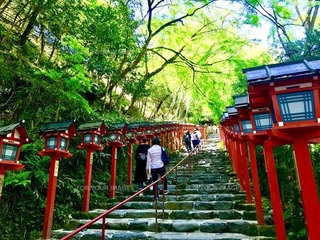 貴船神社の写真素材 [FYI00889898]