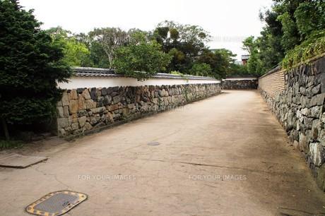 萩の町並み 城下町の写真素材 [FYI00890012]